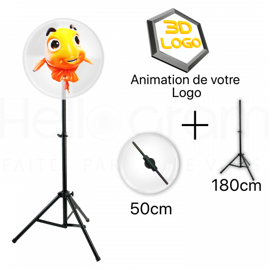 Hologram fan set 50cm