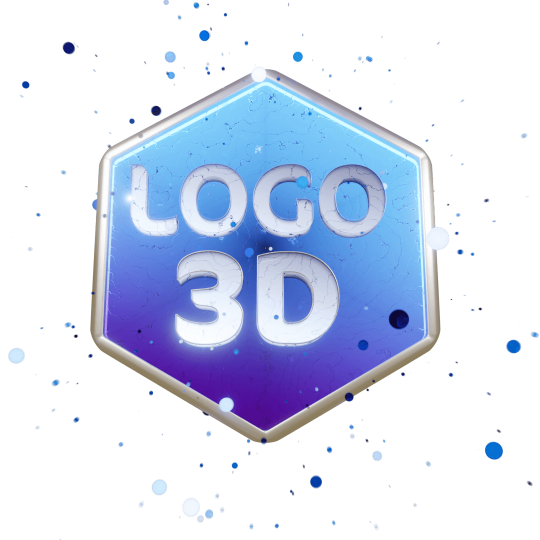 animation logo 3d hologramme